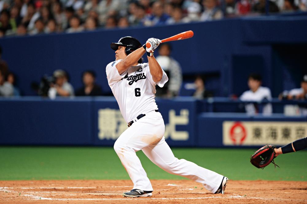 走・攻・守を高いレベルで兼ね備えた球界を代表する外野手